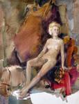 Watercolor Nude 4