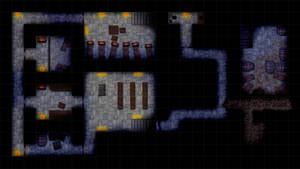 Cultist hideout - RPG map