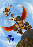 Banjo and Kazooie Newcomer Poster