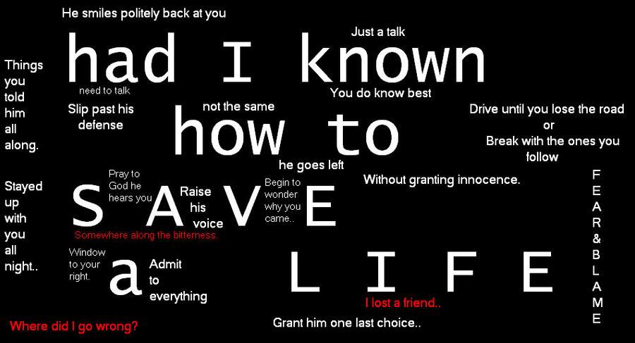 How Save Life Lyrics