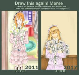 Before After Meme by Reku-maku