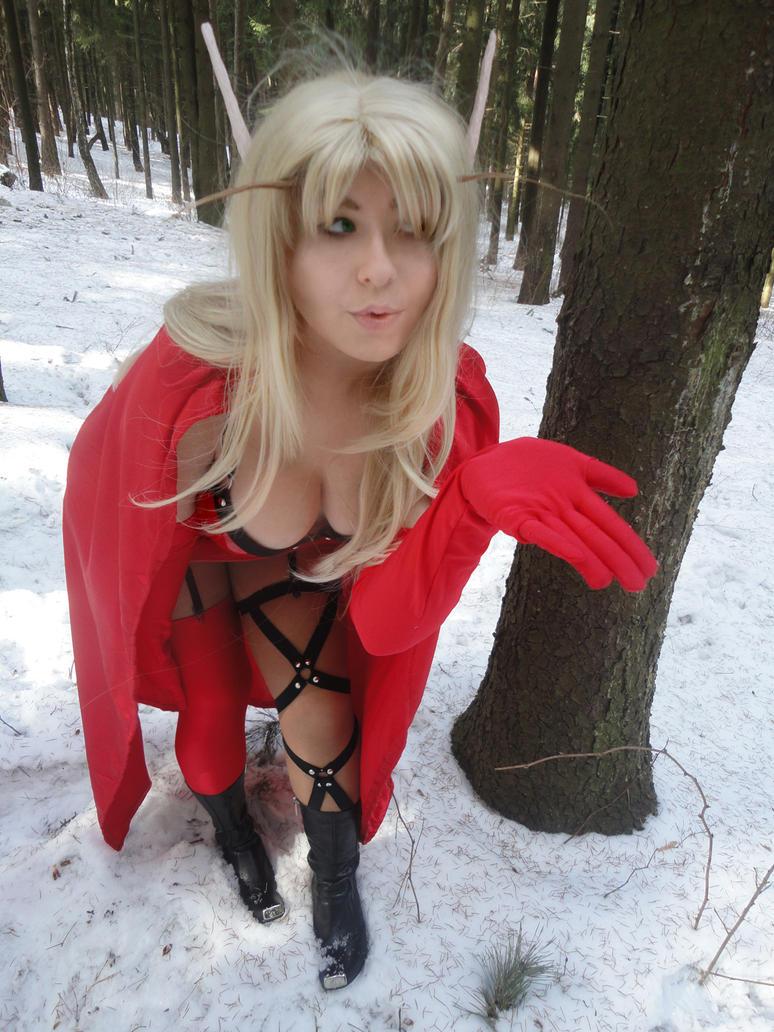 Abuse blood elf sex video
