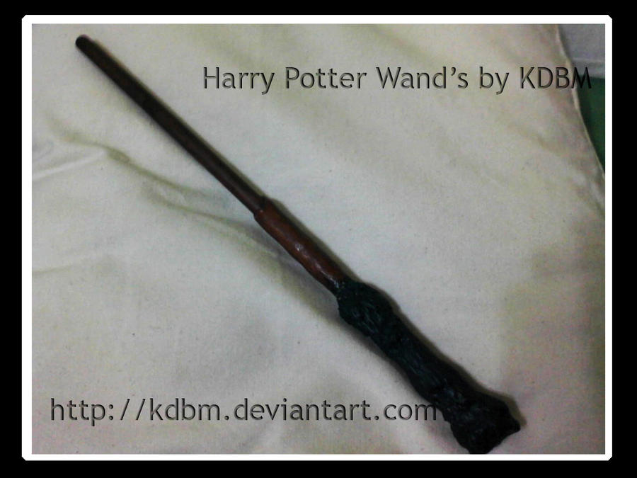 Harry potter wand by kdbm by kdbm on deviantart for Harry potter wand owners