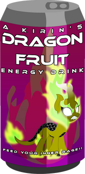 Cold One - A Kirin's Dragon Fruit Energy Drink