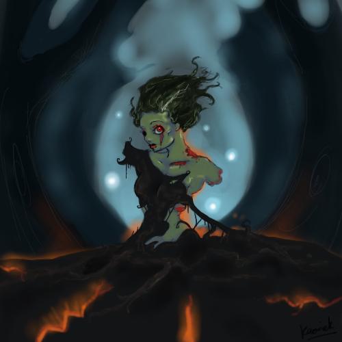 Oekaki Zombie by Kaorick