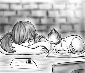 Studying by sandriux2000