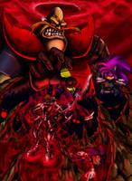 Evil Comes Full Circle-colored by BiggySchmalz