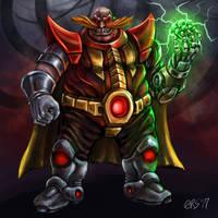 Dr. Ivo Robotnik by BiggySchmalz