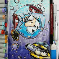 Sonic Underwater