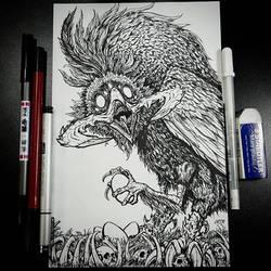 Deep Crow (Inks) by BiggySchmalz