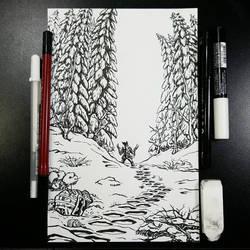 Trail (Inks) by BiggySchmalz