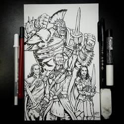 United (Inks) by BiggySchmalz