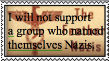 anti feather nazi stamp by articfoxice