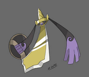 Aegislash Blade Form by zane-men