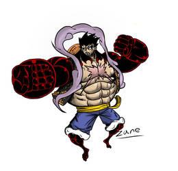 Luffy Gear 4 Bound Man