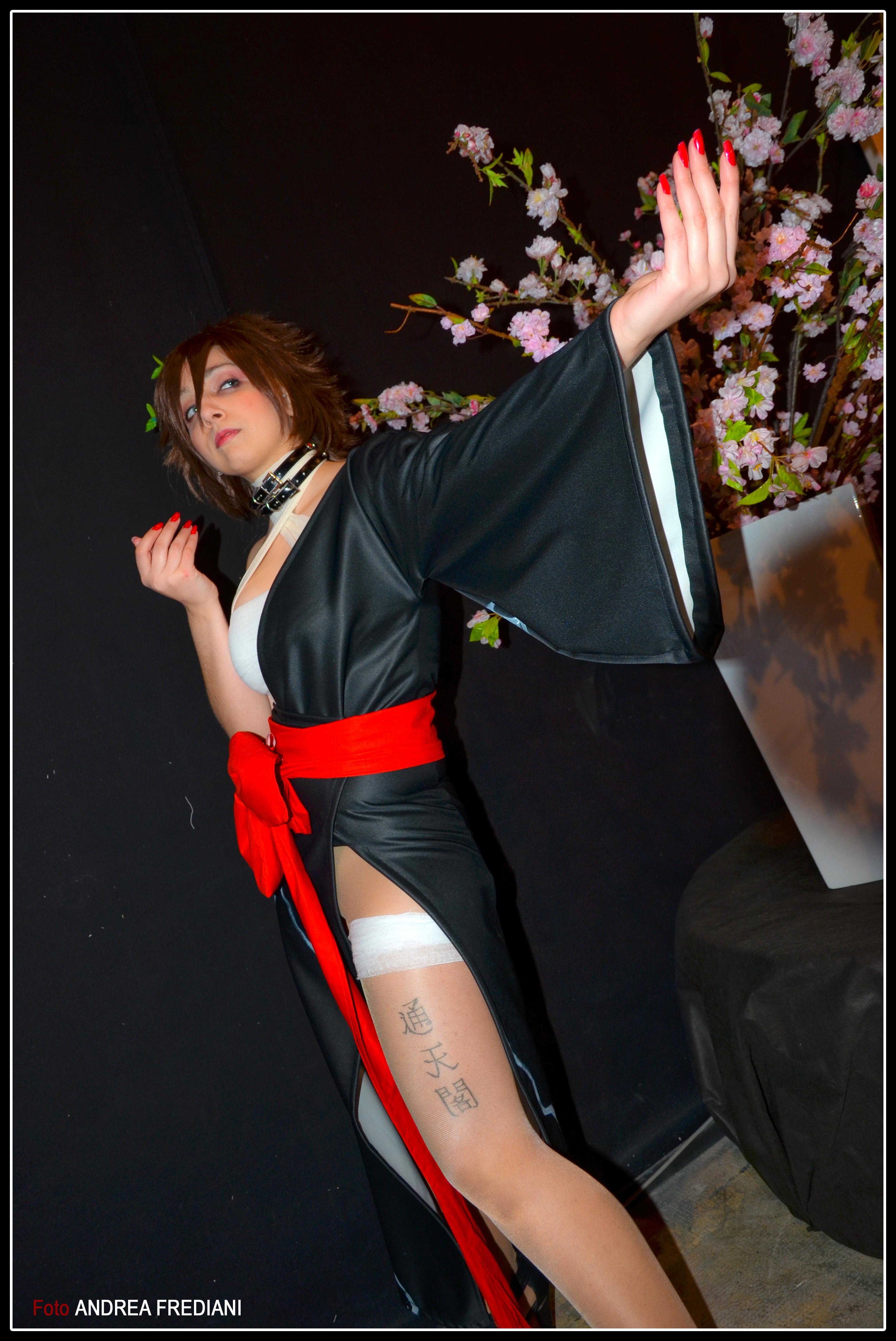 Asuka Kazama Geisha/Kimono Version - Tekken 5 by ArashiHeartgramm