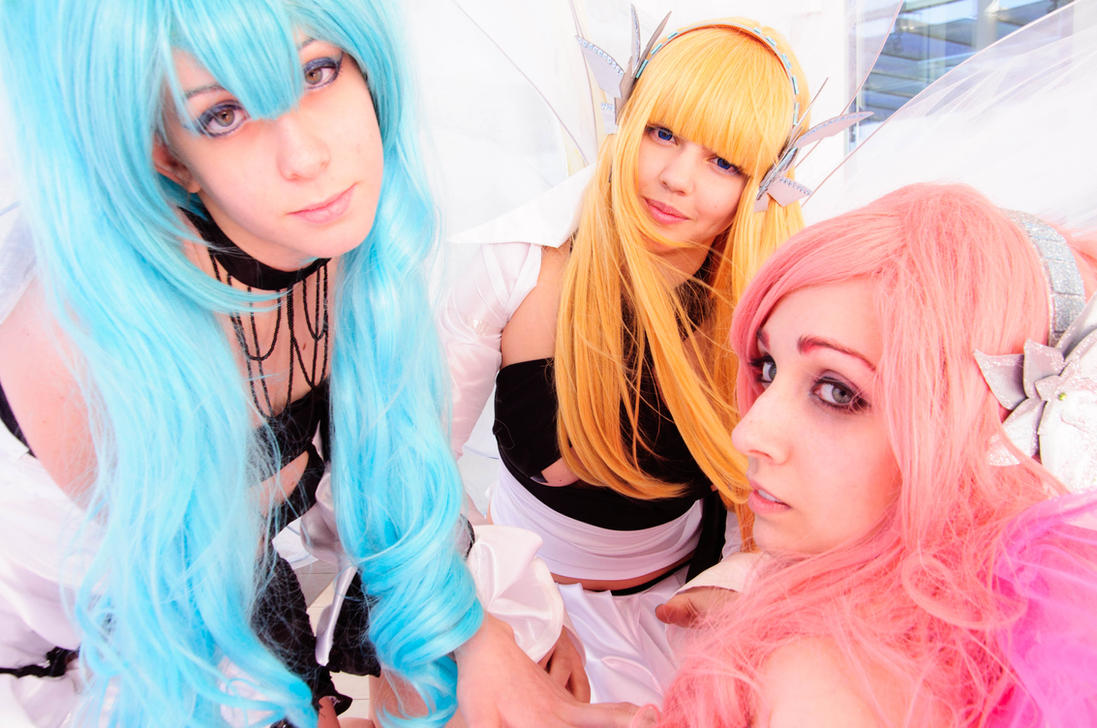 Miku x LiLy x Luka - Blame Of Angel Cosplay by ArashiHeartgramm