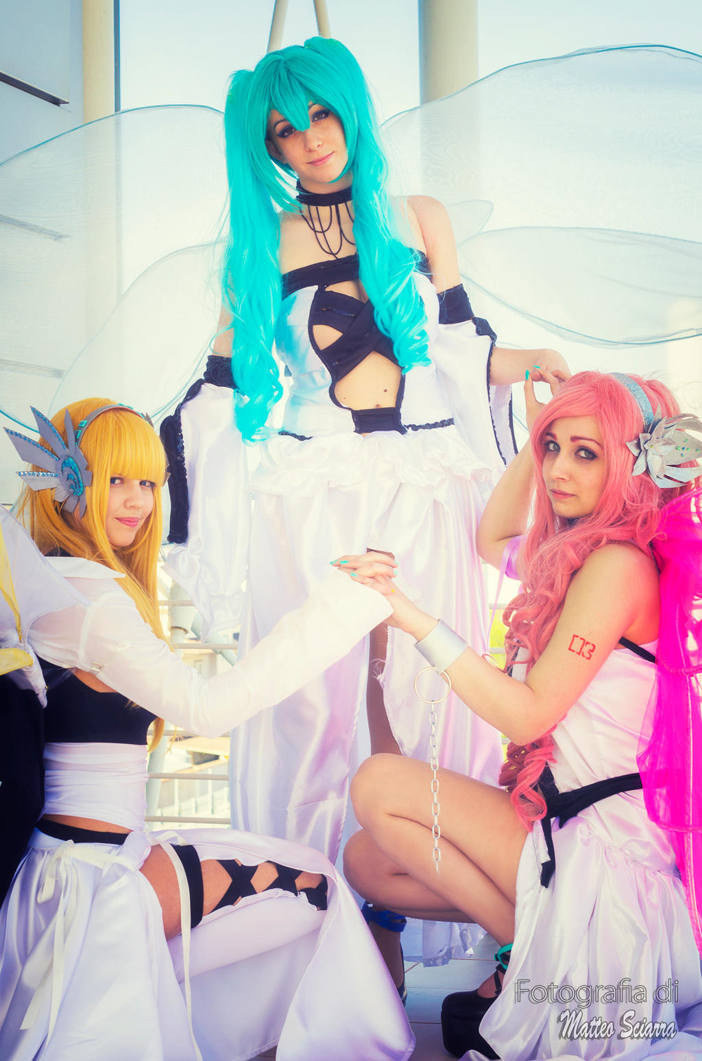 Miku x Lily x Luka - Blame of Angel III by ArashiHeartgramm