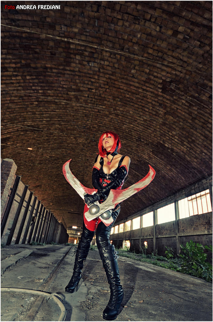 The Dhampir BloodRayne VIII Cosplay by ArashiHeartgramm