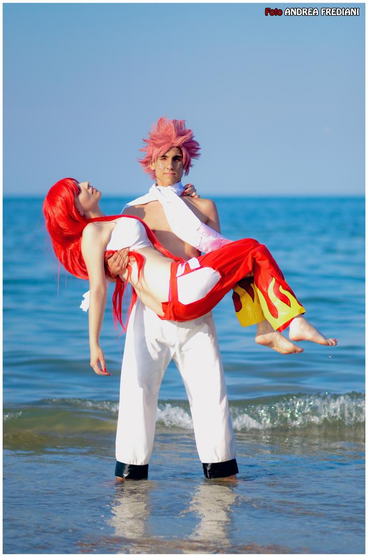 erza x natsu   fairy tail cosplay by arashiheartgramm on