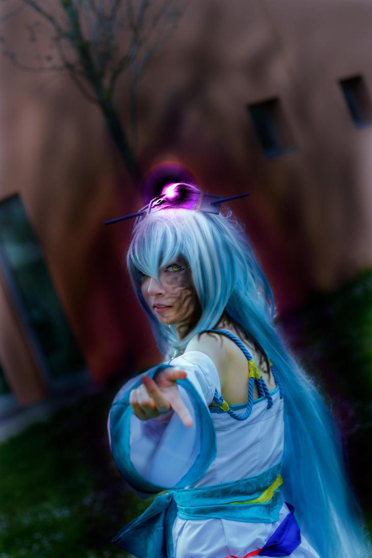 Evil Isanami - Brave 10 Cosplay by ArashiHeartgramm