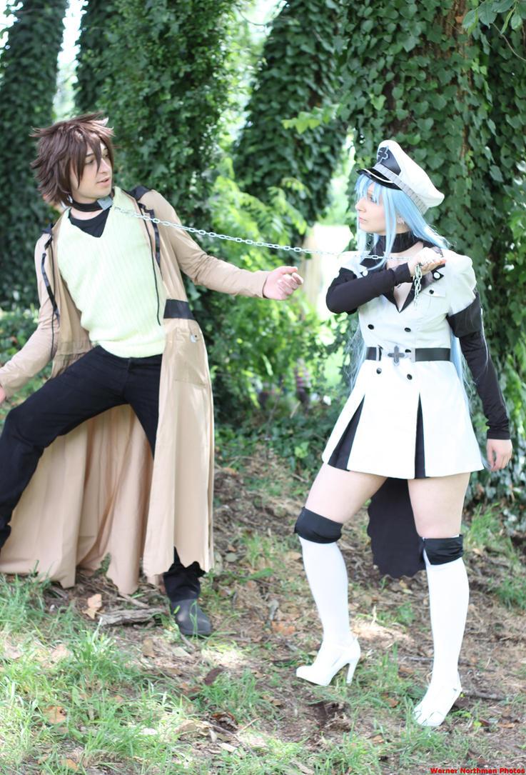 Esdeath x Tatsumi - Akame Ga Kill Cosplay by ArashiHeartgramm