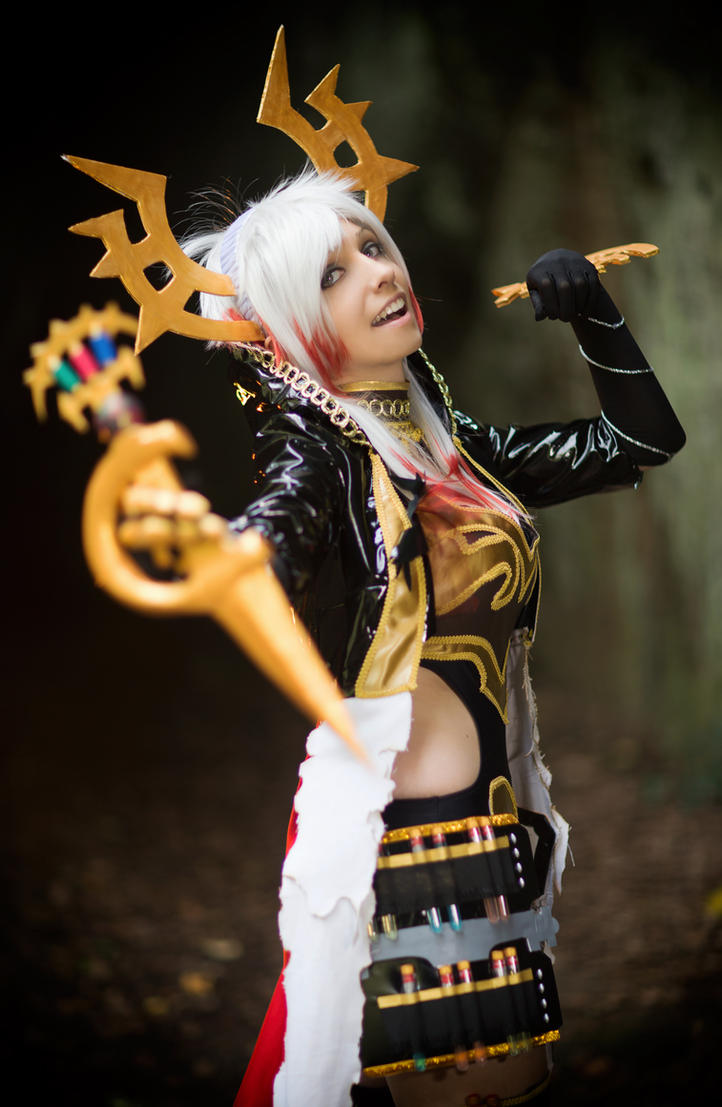 Arch Blood Mage - Rage of Bahamut Cosplay by ArashiHeartgramm