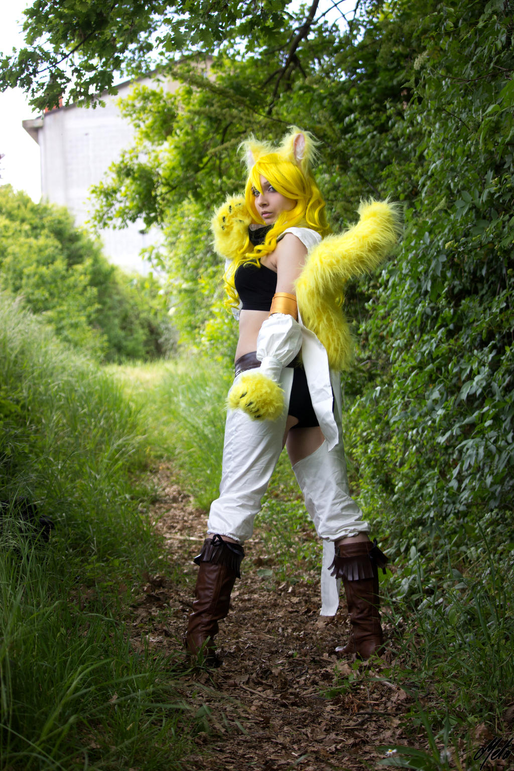 Akame ga kill leone cosplay