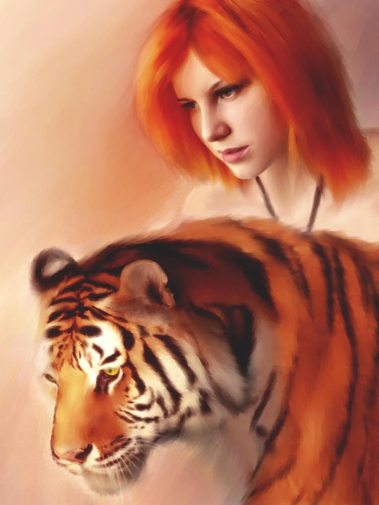 She tiger by Lika-tyan
