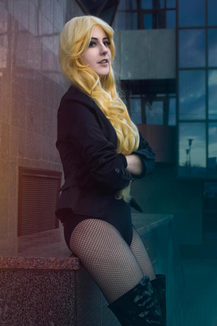 Black Canary photoshoot by Lika-tyan