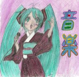 Miku's Karaoke by Midori-Konishi