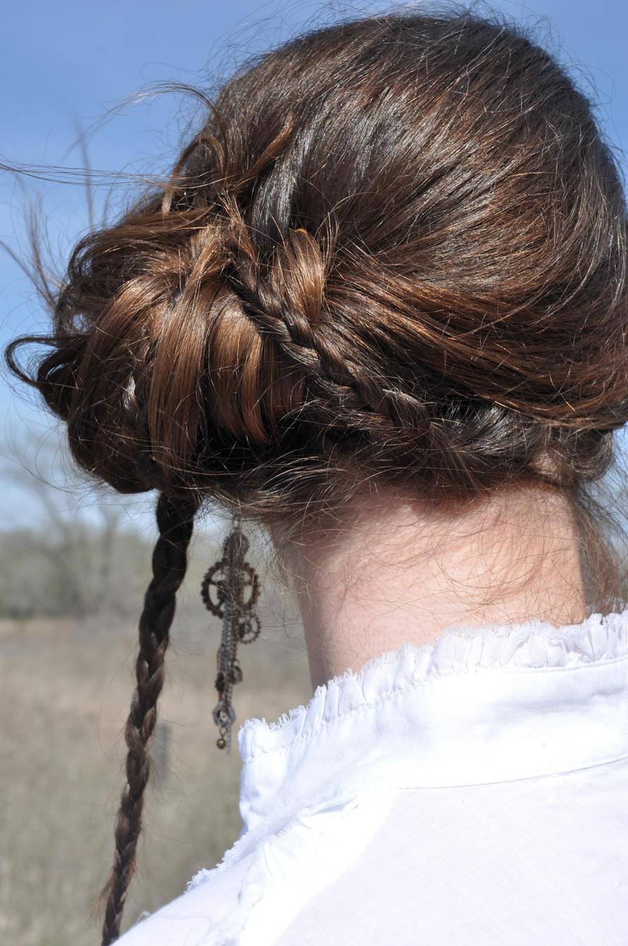 Steampunk Hair Stock I