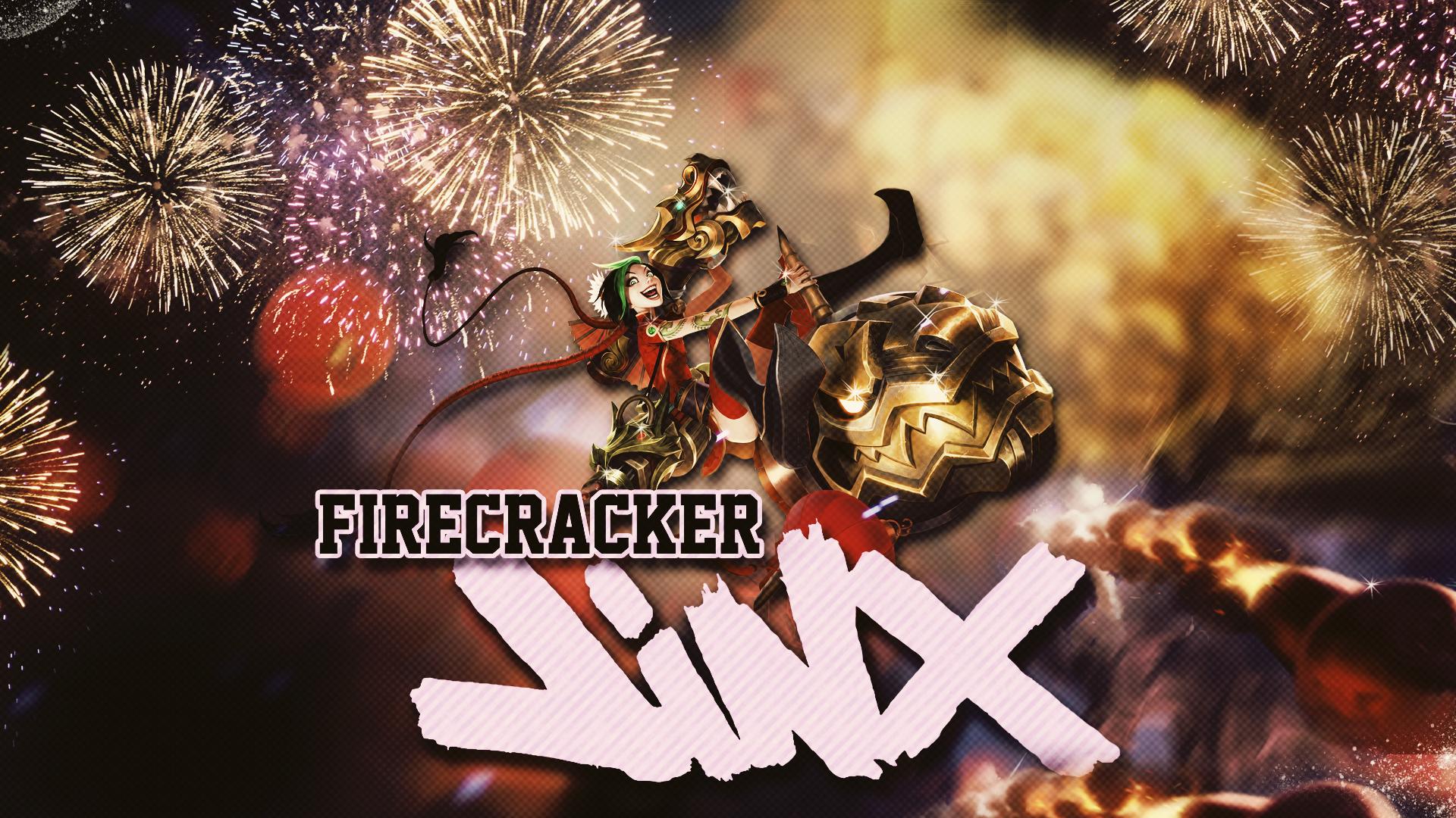 Firecracker Jinx Wallpaper
