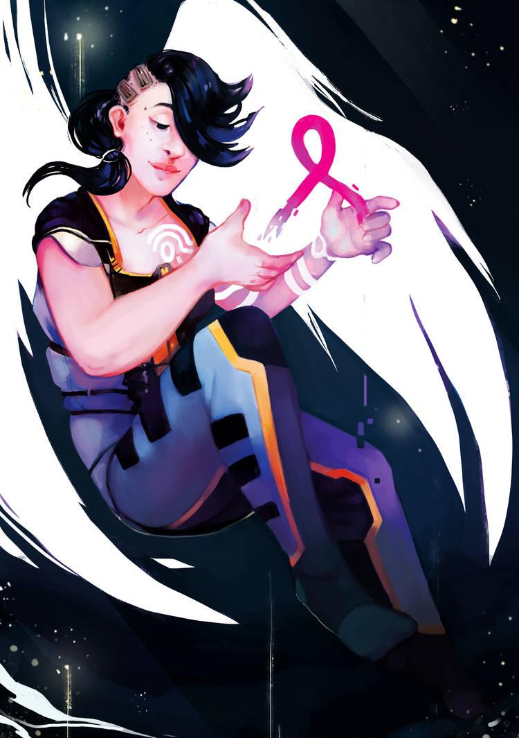 [Gaming Heroines] Angel by JuneMarsch