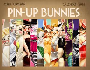 Pin-Up Bunnies Calendar 2014