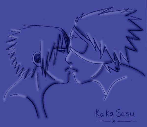 KakaSasu ::Close:: by skybluespirit