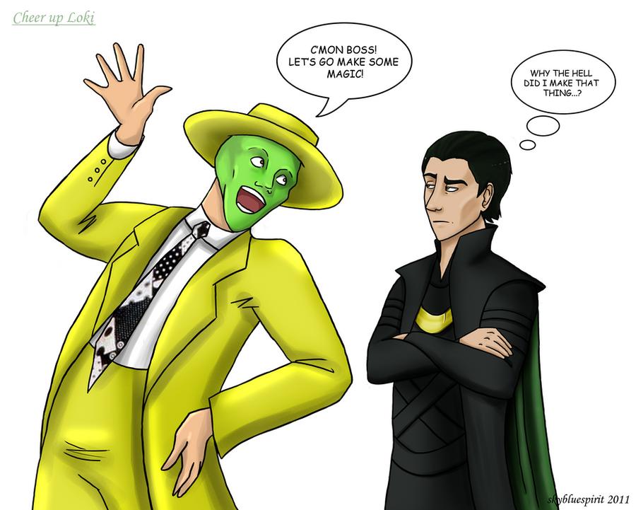 Son Of The Mask Loki Vs Avengers Loki