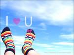I.Love.Rainbow.Socks