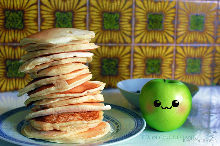 Pancakes Anyone? by FlabnBone