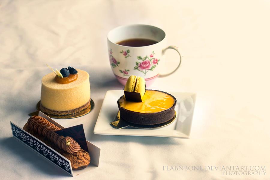 High Tea by FlabnBone
