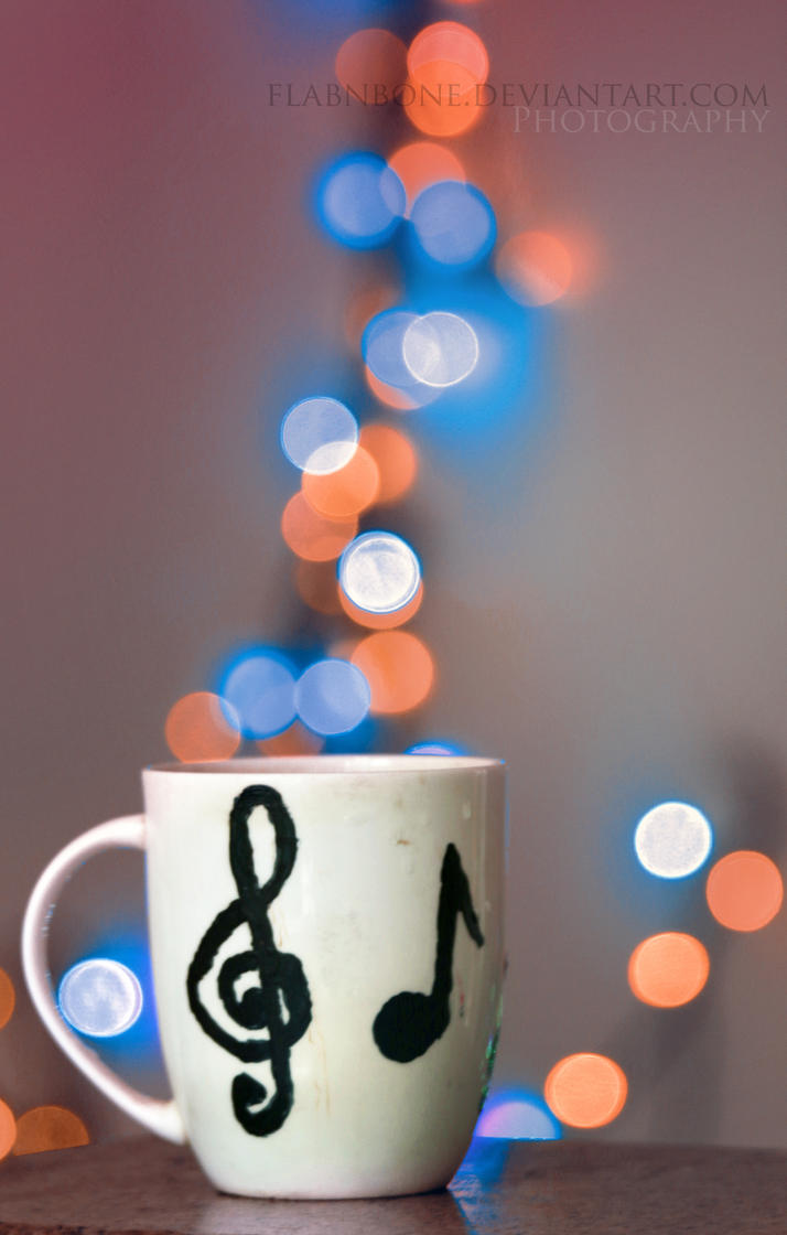 Bokeh in a Cup by FlabnBone