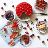Tipsy Trifle Cake III by FlabnBone