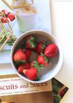Strawberries by FlabnBone