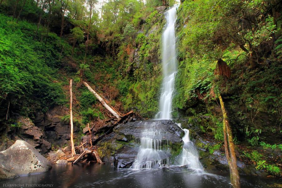 Erksine Falls by FlabnBone