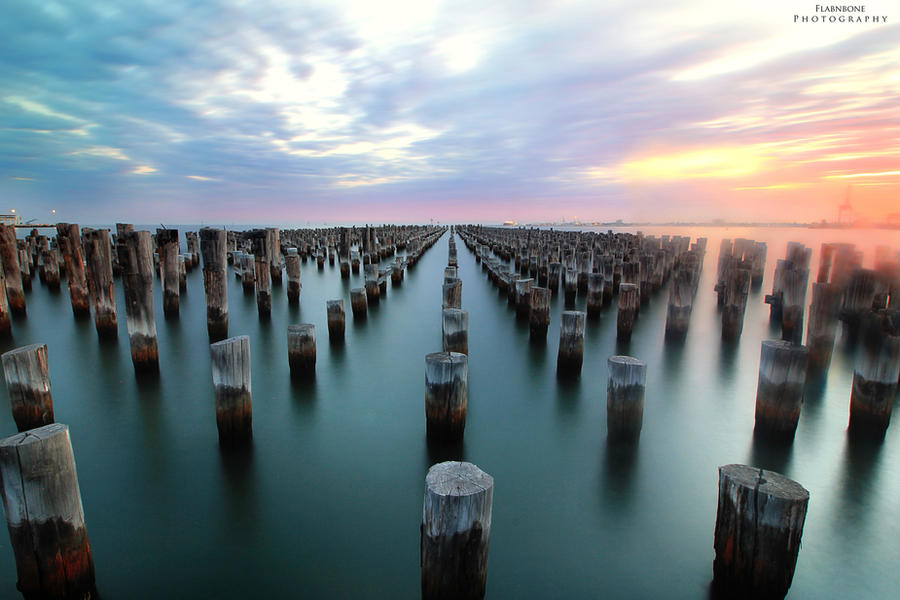 Princes Pier by FlabnBone