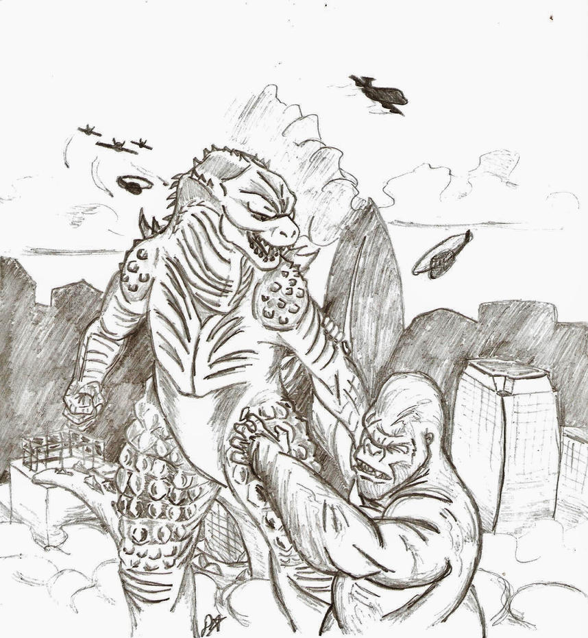 king kong vs godzilla by darkwolf2284 on deviantart