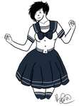 Ahhh yes, the Seifuku Girlfriend by ranuncudahlia