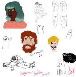 september sketch dump by ranuncudahlia