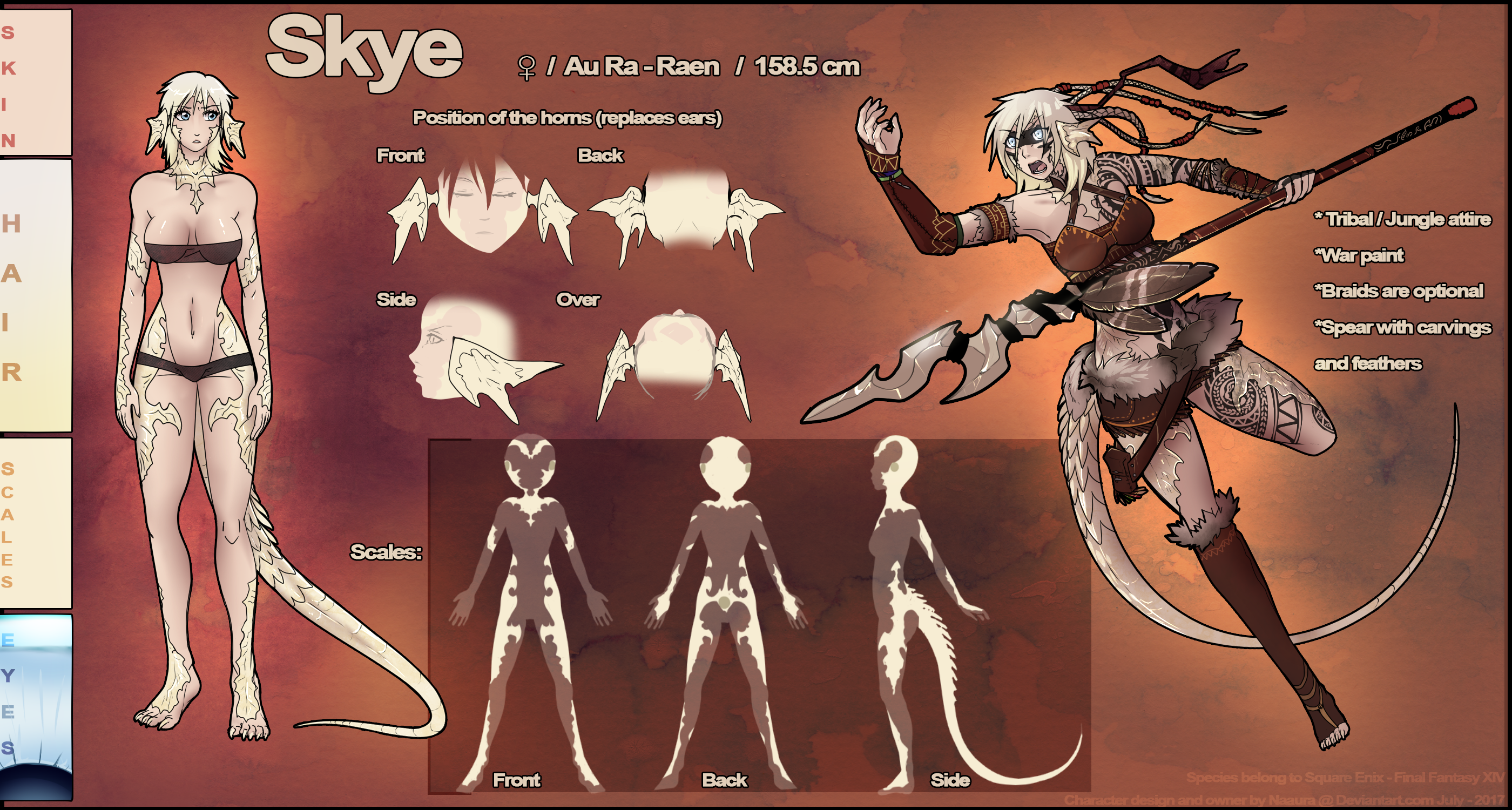 Skye Shiyonin Blog Entry `RP Biography` | FINAL FANTASY XIV