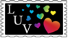 LUV Stamp by SaintIscariot